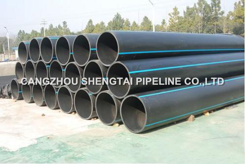 china ISO4427 HDPE polyethylene pipe manufacturing/supplier