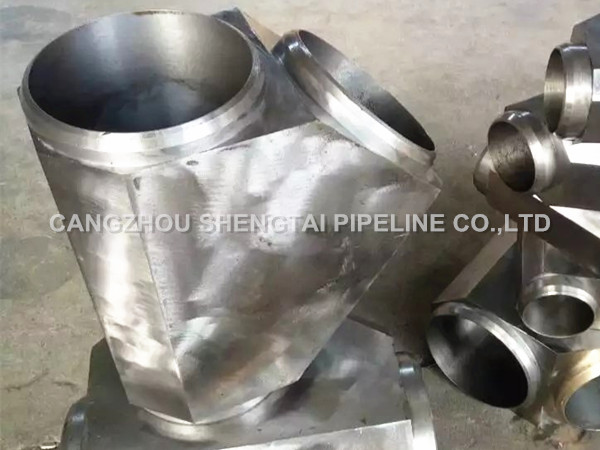 china 45 degree forged lateral tee products manufacturing/supplier