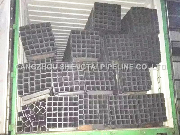 china square steel pipe for export manufacturing/supplier