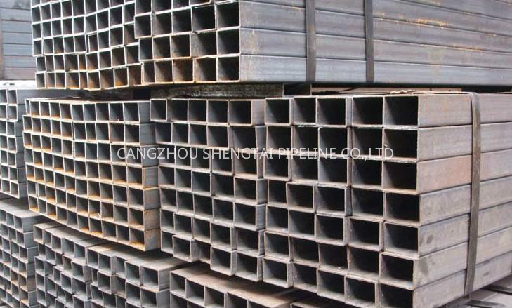 china  Square or rectangular steel pipe and tube manufacturing/supplier