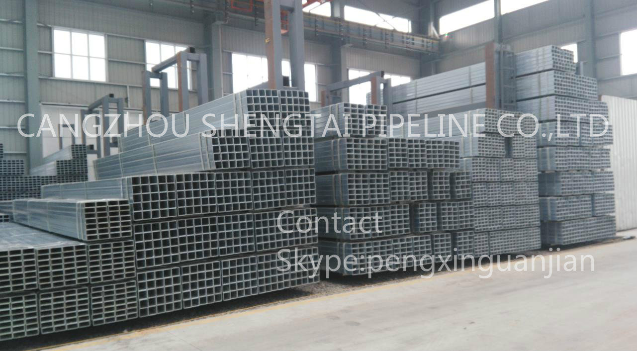 china Q235 material square steel tube manufacturing/supplier